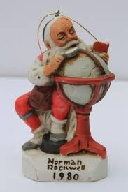 norman rockwell figurines decore