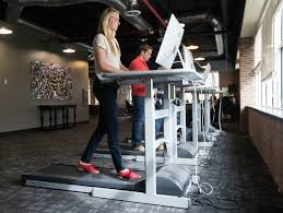 Walking Desk Treadmill One Month With A Treadmill Desk Beats Sitting Still Recode