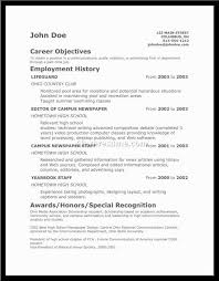 first time job resume examples free resume templates jobs for