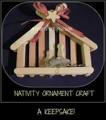 diy ornaments and decorations nativity craft sticks