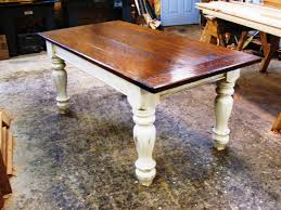 chunky farmhouse table legs vermont pine farmhouse tables