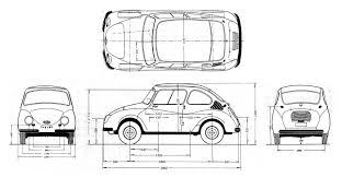 subaru 360 subaru 360 1958 blueprint download free blueprint for 3d modeling