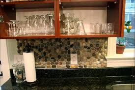 recycled glass backsplashes for kitchens sea glass tiles backsplash big blue bodesi modest ideas