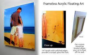 frameless pictures frameless picture frame citys home