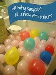 Balloon Decor Ideas Birthdays Birthday Surprise Gift Ideas Pinterest Birthdays And