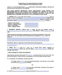 Free Lease Agreement Free Florida Month To Month Lease Agreement Pdf Word Doc