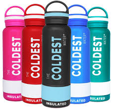 the coldest water bottle stainless steel insulated 21oz review