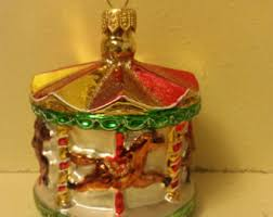 Glass Ballerina Christmas Tree Decoration by Blown Glass Circus Elephant Christmas Tree Ornament Decoration