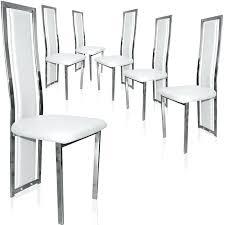 lot de 6 chaises salle à manger chaise lot de 6 lot chaises noires lot de chaises salle a