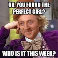 Perfect Girl Meme - condescending wonka memes quickmeme