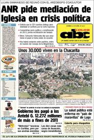 newspaper abc color paraguay newspapers paraguay sunday u0027s