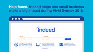 Post Resume On Indeed Indeed Celebrates Australia U0027s Most Creative Small Businesses