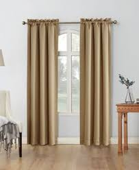 Curtains 90 Inches Rt Designers Collection Solid Colored Orient Blackout 90 Inch Rod