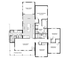 four bedroom floor plans buckeye 4 bedroom w family room square footage 2 445 exterior