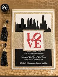 wedding invitations harrisburg pa april ryan u0027s philadelphia themed wedding invitation suite