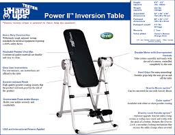 inversion table how to use teeter hang ups power 2 inversion table