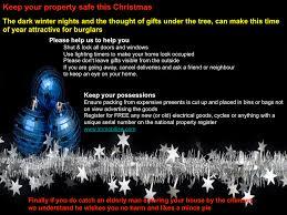 winter burglary advice h f neighbourhood