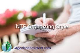 intp organizing profile your organizing business