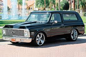 chevy blazer rebody replica featured vehicles rod network