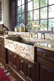 Country Style Kitchen Sinks by Elegance And Glamor Classic Colonial Kitchen Design Home