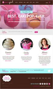 showcase of 10 beautiful cupcake website design