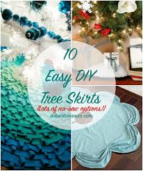 10 quick and easy tree skirts dollar store mom