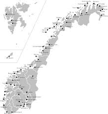 Map Of Norway Map Of Europe Norway