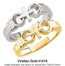 wedding rings cross images Joined by christ quot cross wedding rings in white or yellow gold 1018 gif
