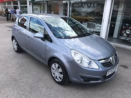 opel corsa 2009 used vauxhall corsa club 2009 cars for sale motors co uk