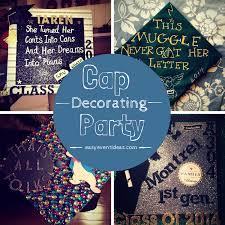 graduation cap decorations decorating your graduation cap party easy event ideas