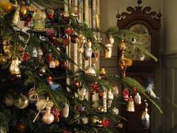 German Christmas Tree Decorations Traditions by Christmas Tree Illuminated With Real Candles