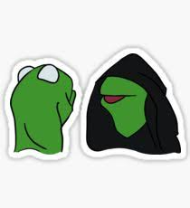 Stickers Meme - kermit meme stickers redbubble