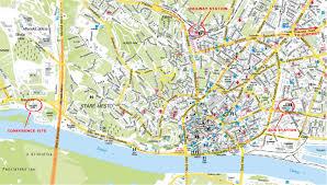 Slovakia Map Bratislava Map And Bratislava Satellite Image