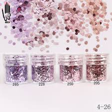 popular glitter pink nail buy cheap glitter pink nail lots from