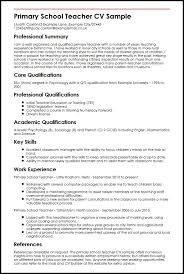 academic cv template job resume format example sample for working