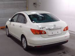 white nissan car used nissan bluebird sylphy sedans 2007 model in white pearl
