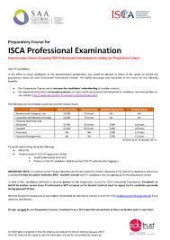 isca pe preparatory courses isca