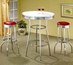 coaster chrome plated soda fountain bar stool coaster fine