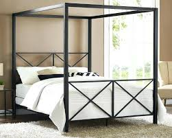 metal canopy beds canopy bed frame king size queen size metal