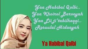 Ya Habibal Qolbi 4 23 Mb Lagu Lirik Ya Habibal Qolbi Voc Lagu Nissa