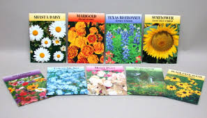 flower seed packets personalized flower seed packets key tags lockboxes real