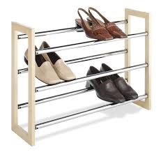 Stackable Wire Shelves by Interesting Shoe Rack Design Modern Featuring Wire Shelving And