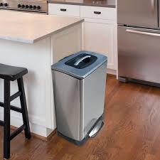 kitchen garbage cabinet uncategories pull out trash can with lid kitchen trash bin