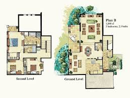 villa plans pleasant design ideas 5 3 bed villa floor plans homeca