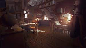 Medieval Bedroom by Artstation What Remains Of Edith Finch Bedroom Concept Theo