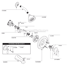 Bathroom Shower Parts Moen 82496brb Parts List And Diagram Ereplacementparts