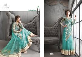 zoya indian long frocks fashion by zobi fabrics