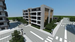 apartment building design minecraft modern apartment building minecraft