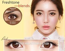 Light Brown Contact Lenses Wholesale Fresh Tone Blends Series Korea Dream Color Contact