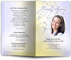 diy funeral programs rosary catholic funeral program faith based templates for